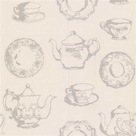 shabby chic designers designer selection vintage teacups shabby chic wallpaper