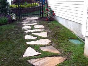 building a stone walkway how tos diy