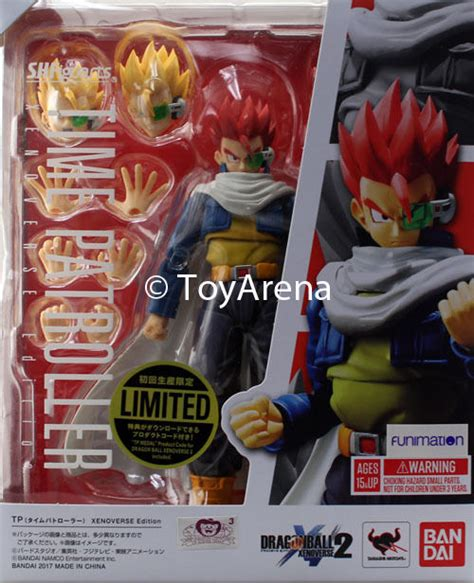 S H Figuarts Tp Time Patroller Xenoverse Edition 1 s h figuarts xenoverse time patroller figure usa free shipping ebay