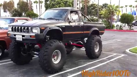 toyota old truck 1982 toyota monster truck old mini truckin youtube