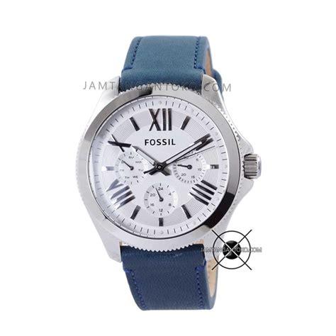 Box Fossil Kaleng Originall harga sarap jam tangan fossil cecile kulit biru am4531