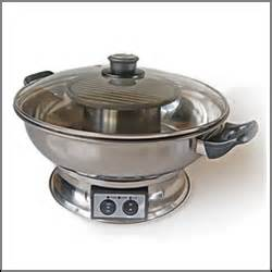 Glazed Ceramic Pots electric hotpot with electric bbq grill buy online