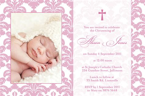 design layout of baptismal invitation alison li designs