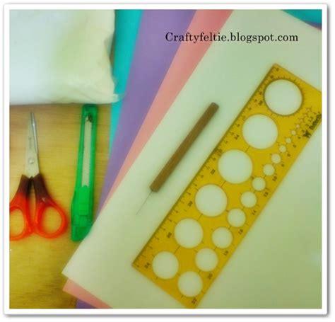 Cutter Lipat Disposable craftyfeltie tutorial membuat kartu ucapan dengan hiasan paper quilling