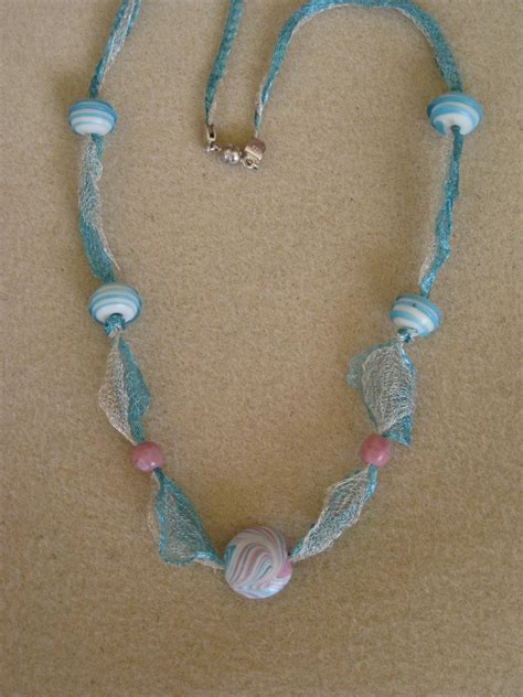 how to make bead necklace designs jewelry for wire lace ribbon beaded