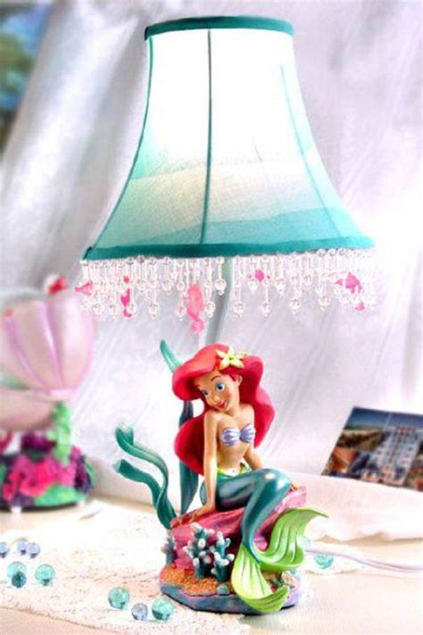 Mermaid Themed Bedroom 32 creative lamps and lights for kids rooms and nurseries