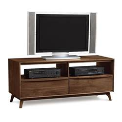 Tv Console Table Modern Walnut Tv Stand Console American Made Mid Century Design Vt