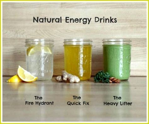 3 Healthy Homemade Energy Drink Recipes   DIY Home Sweet Home