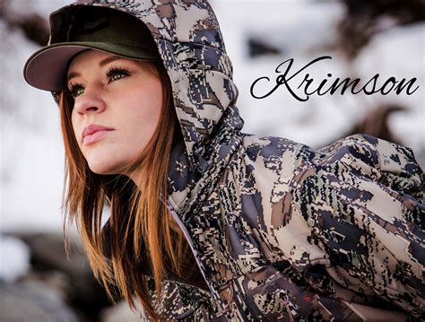 krimson buying house an interview with up and coming huntress krimson outdoorhub