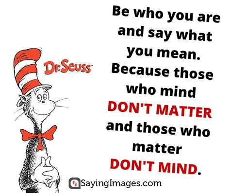 Who Are You Book 40 favorite dr seuss quotes to make you smile