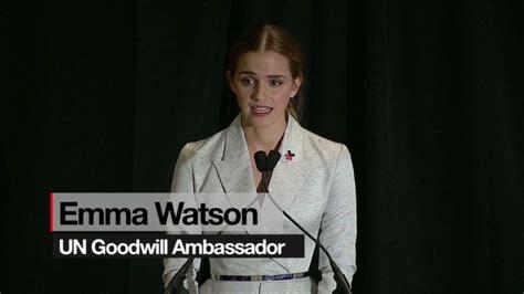 emma watson speech emma watson nude photo threat a hoax cnn