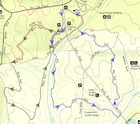 maryland forest map d a m n gynr our family hiking biking etc june