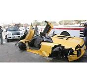 Lamborghini Murcielago Roadster  Sick Crashes Car