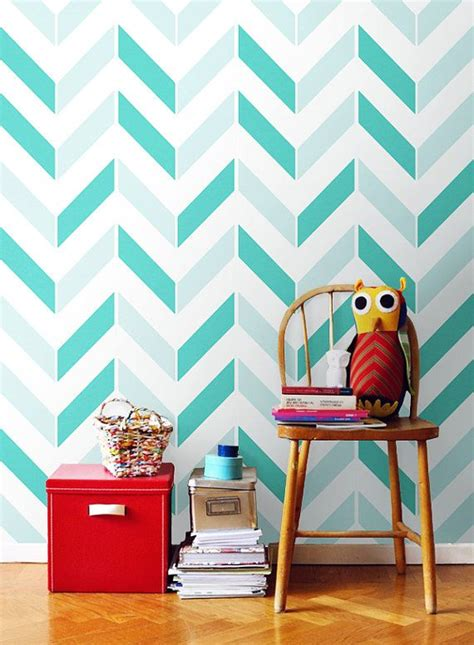 paint patterns for walls chevron pattern self adhesive vinyl wallpaper d003 by