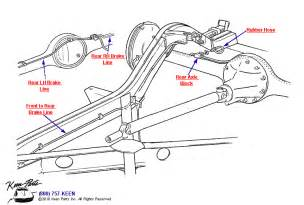 Brake Line Parts Diagram Corvette Steering Parts For 1953 2011 Corvettes Corvette