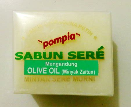 Sabun Sereh Pompia Kotak by Mutiah Gallery
