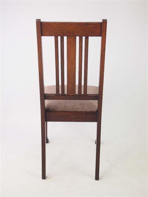 oak chairs uk set 4 edwardian oak dining chairs