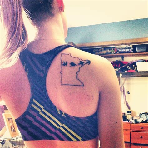 minnesota outline tattoo minnesota birds like that just a
