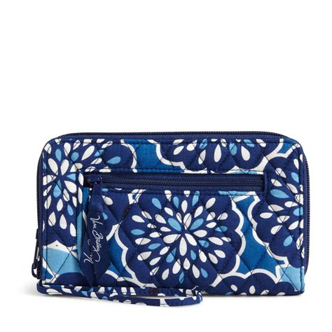 wallet factory vera bradley factory exclusive zip around wallet ebay