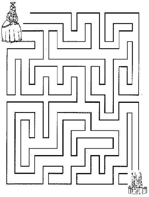 printable wedding maze 6 best images of big printable mazes free printable