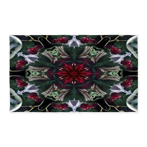 3 by 5 area rugs berry wreath 3 x5 area rug by moodymuse