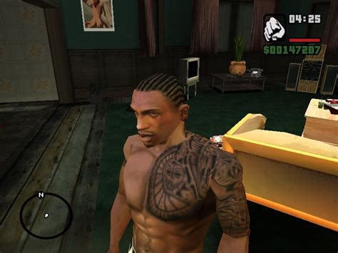 gta san andreas the rock tattoo mod gtainside com