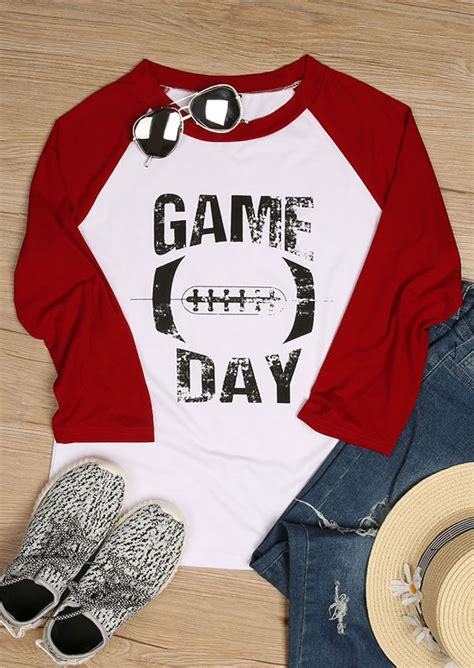 game day  neck baseball  shirt fairyseason