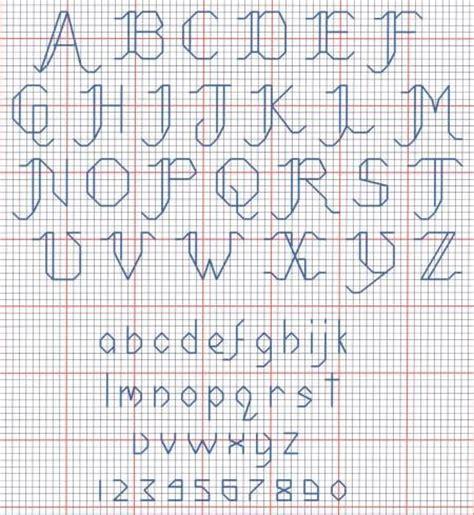 Cross Stitch Letter Generator