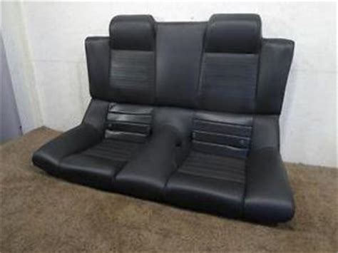 mustang upholstery replacement replacement ford convertible mustang gt black leather rear