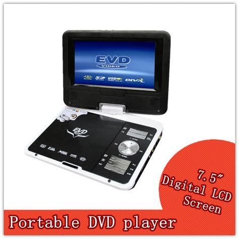 Led Tv Portable 7 Inchi Stereo Berkualitas 3d 7 5 inch led dvd player portable dvd vcd palyer read cd usb flash drive jpg