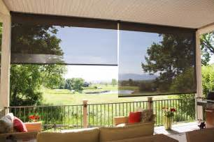 patio sun screen shades insolroll oasis 2600 patio sun shades innovative openings