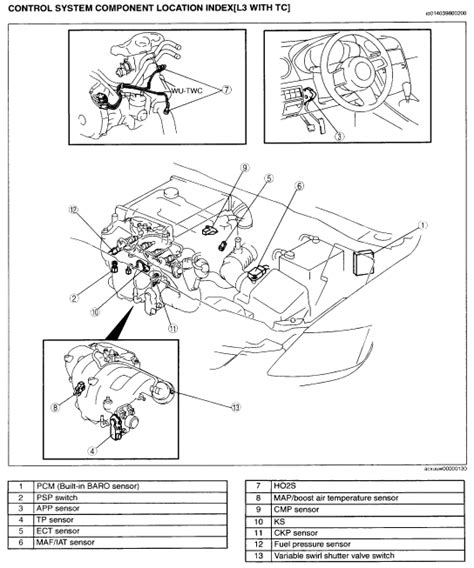 mazda 121 metro workshop manual where is the fuel pressure sensor and should the