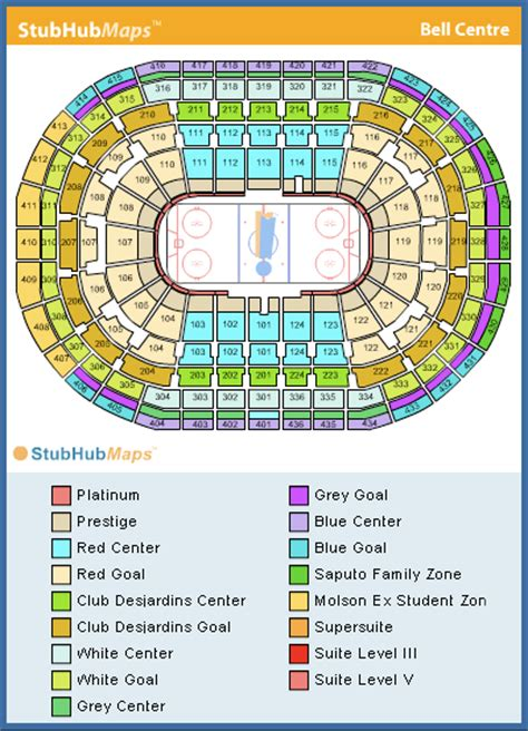 bell centre floor plan bell centre seating chart pictures directions and