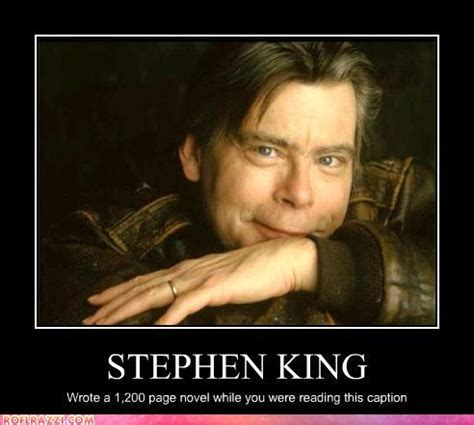 why stephen king makes us all look bad readage