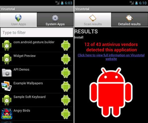how to check android for virus scan android apps free with more than 40 antivirus