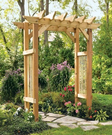 enrejado easy a trellis like this is very easy to put together and can