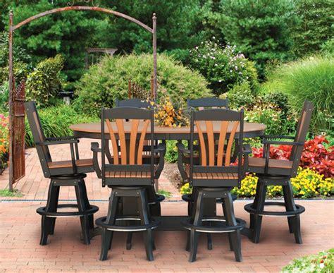 sunburst patio swivel arm chair pa handcrafted amish