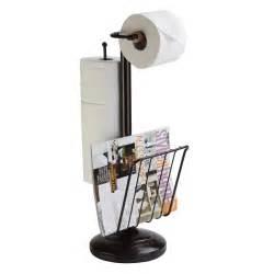 Free Standing Toilet Paper Holder Better Living 545 The Organized Bath Freestanding Toilet