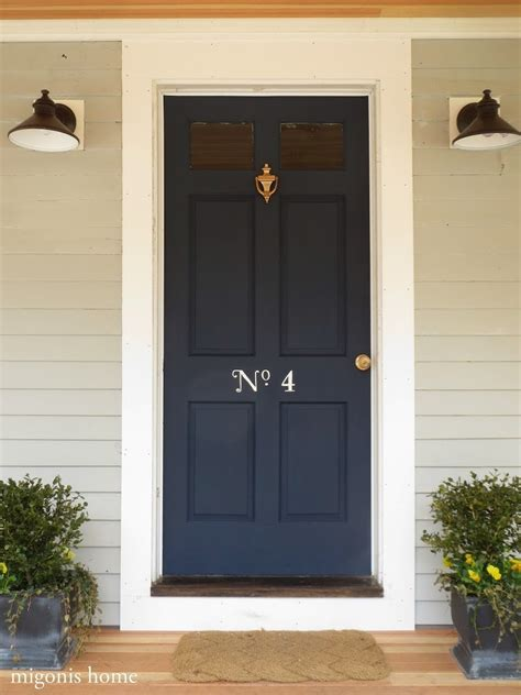 navy blue door beachy cottage guest house tour rooms for rent blog