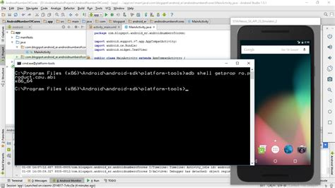 android shell commands android er display abi using quot adb shell getprop ro product cpu abi quot command