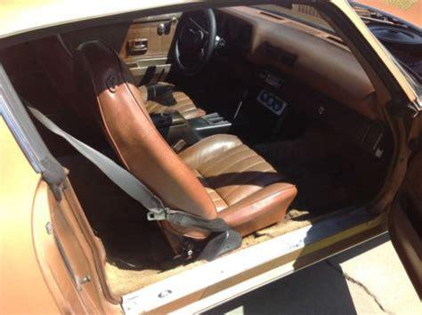 buy   camaro unmolested original paint interior
