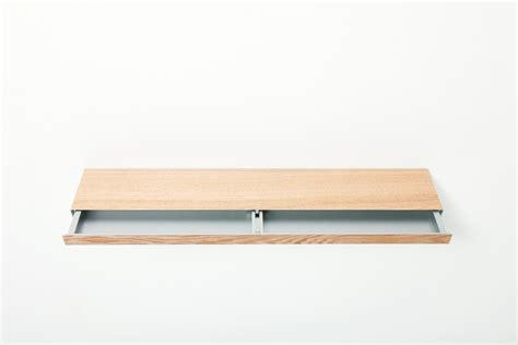 Shelf Drawer by Wooden Like Aluminum Floating Shelf Furniture With Secret