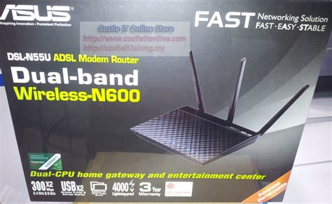 Router Wifi Di Malaysia asus modem router wireless n600mbps dual band dsl n55u kuala lumpur end time 5 7 2014 8 20