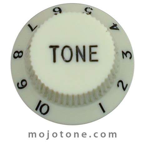 Tone Knobs by Stratocaster Guitar Knobs