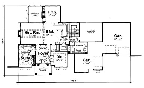 455 square feet mediterranean style house plan 5 beds 4 50 baths 4566 sq