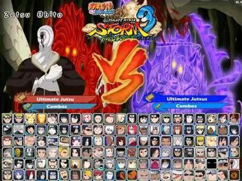 mod game naruto mugen download naruto shippuden ultimate ninja storm 3 full