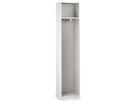 armoire 50 cm largeur caisse 1 porte l 50 cm no limit coloris blanc vente de