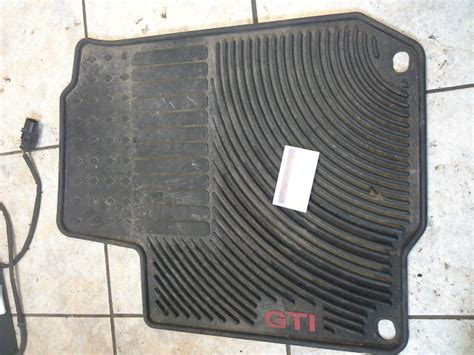 mk4 golf mats quality used vw parts mk4 gti driver floor mat