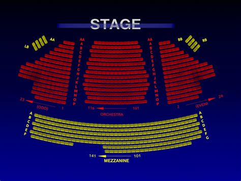 american airlines floor plan american airlines theatre broadway seating chart history
