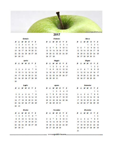 Calendario Word Calendario In Formato Word 2017